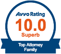 AVVO Rating 10.0 Family